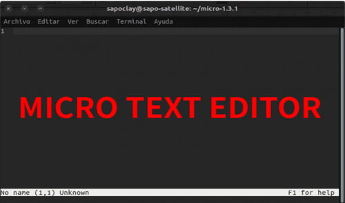 about micro text editor