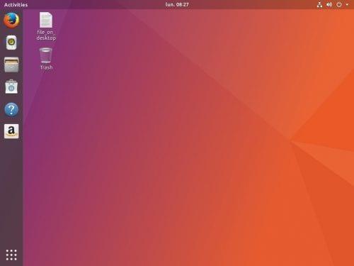 Ubuntu 17.10 con GNOME 3.26