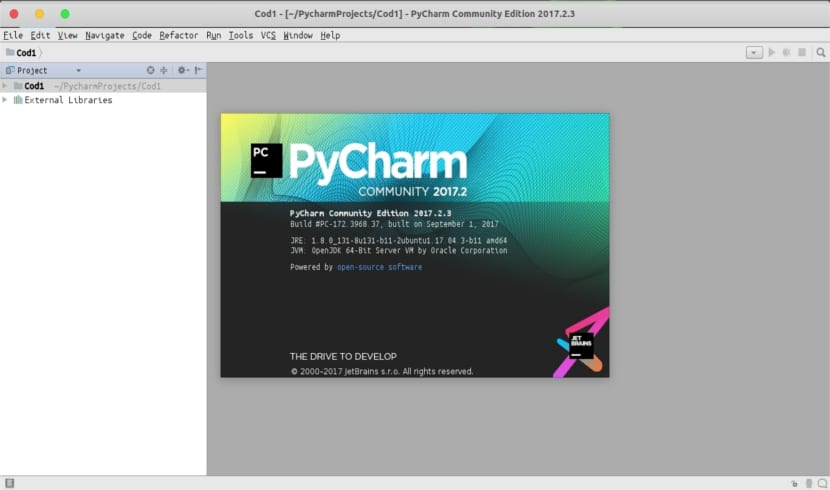 about PyCharm Community Edition