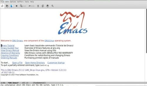 about gnu emacs
