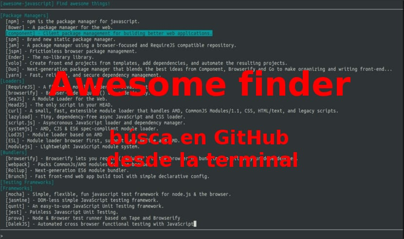 awesome finder nombre