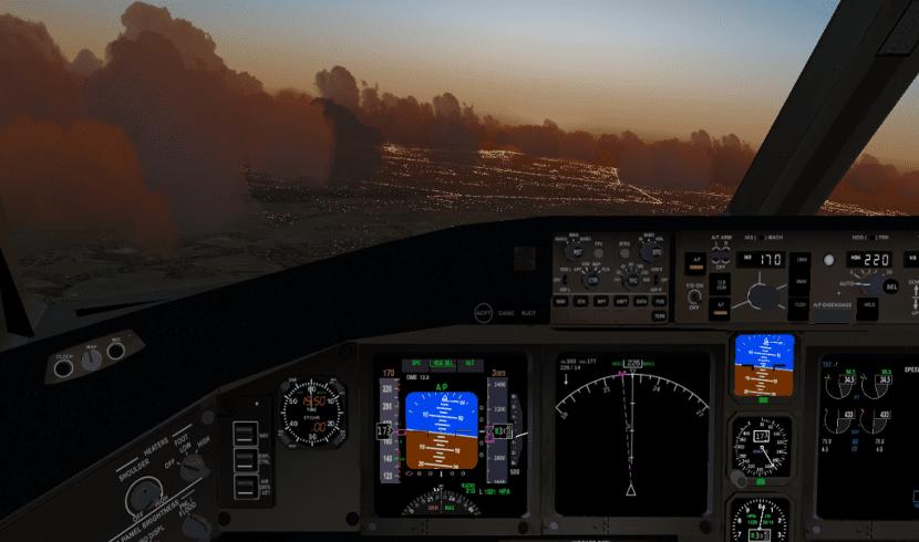 flightgear volando