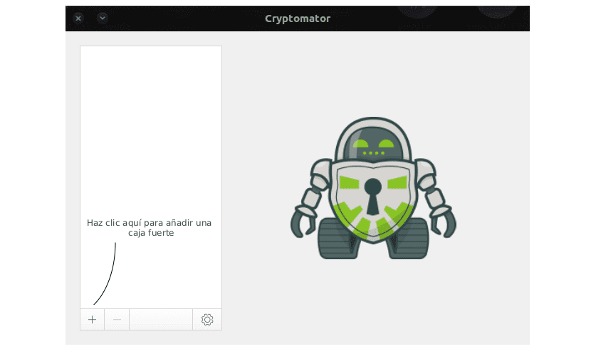 Interface Cryptomator