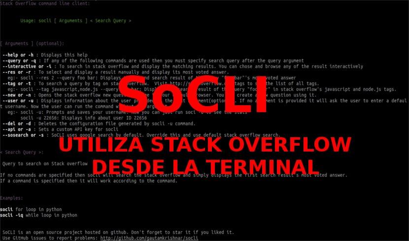 Buscador de terminal SoCLI