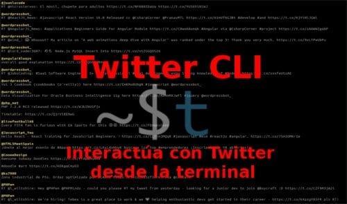 nombre twitter cli