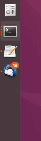 Notificaciones y ventanas abiertas en las apps acopladas al Ubuntu Dock