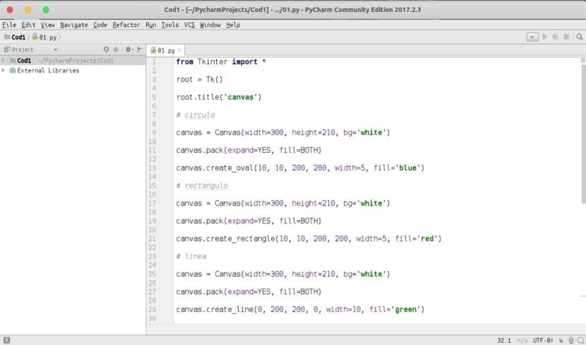 proyecto con PyCharm Community Edition