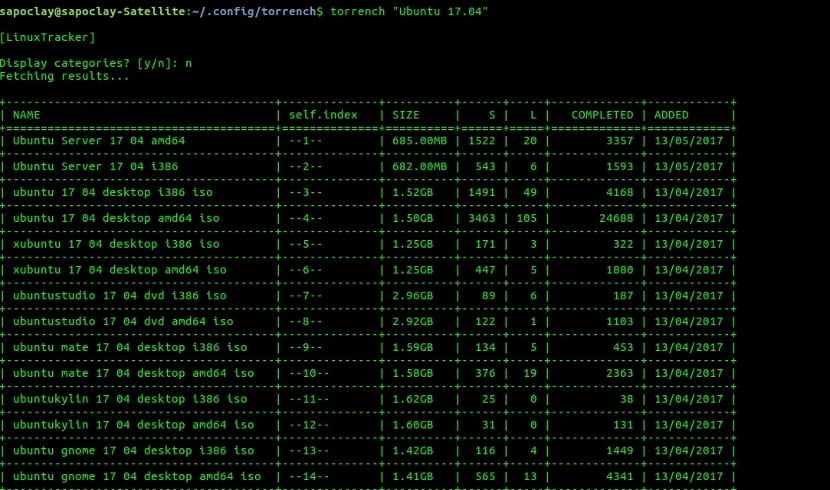 torrench linuxtracker