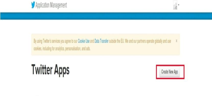twitter cli twitter app