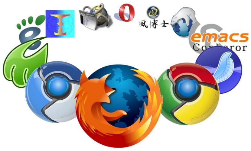 Navegadores web ubuntu