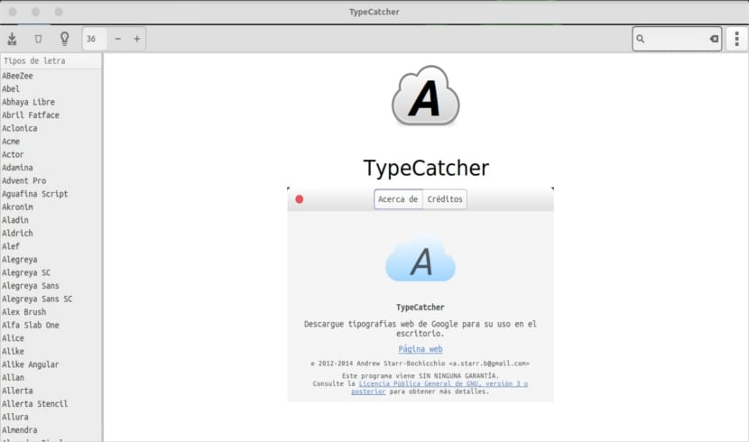 TypeCatcher about