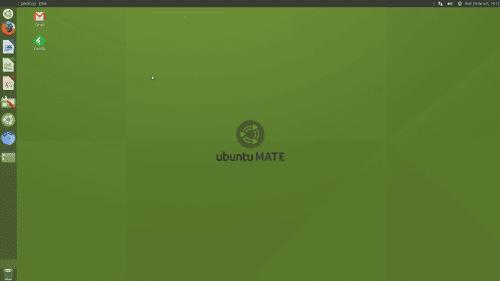 Ubuntu MATe con apariencia de Unity