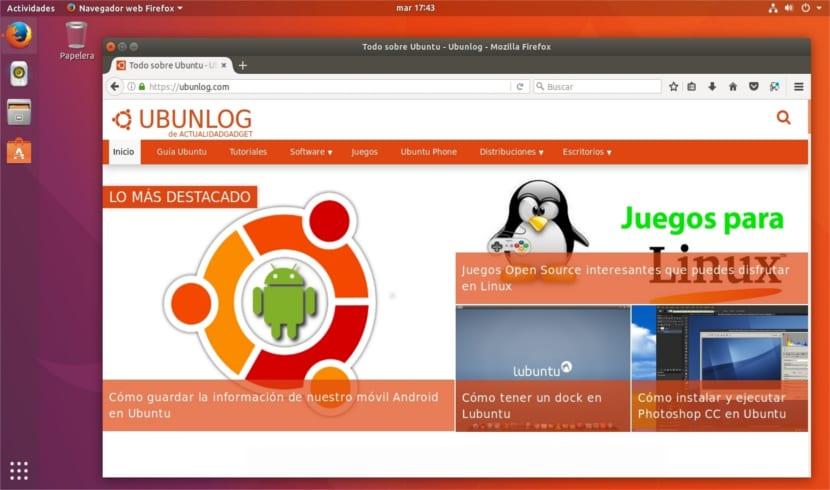 botones ventanas lado izquierdo Ubuntu 17.10