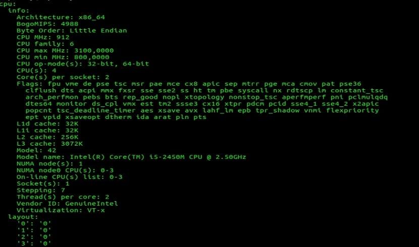 netutils-linux server-info-show