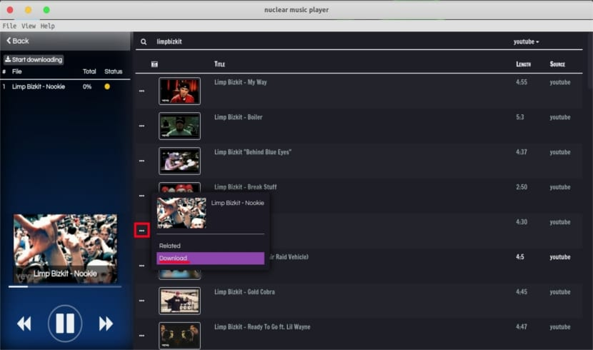 nuclear descarga música