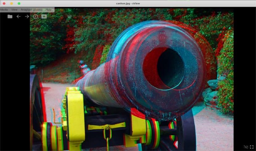 sview vista imagen 3D