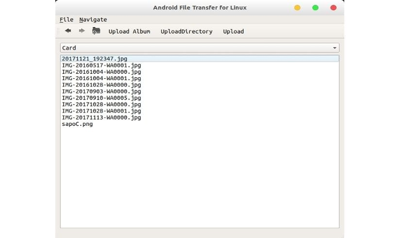 Android File Transfer for Ubuntu