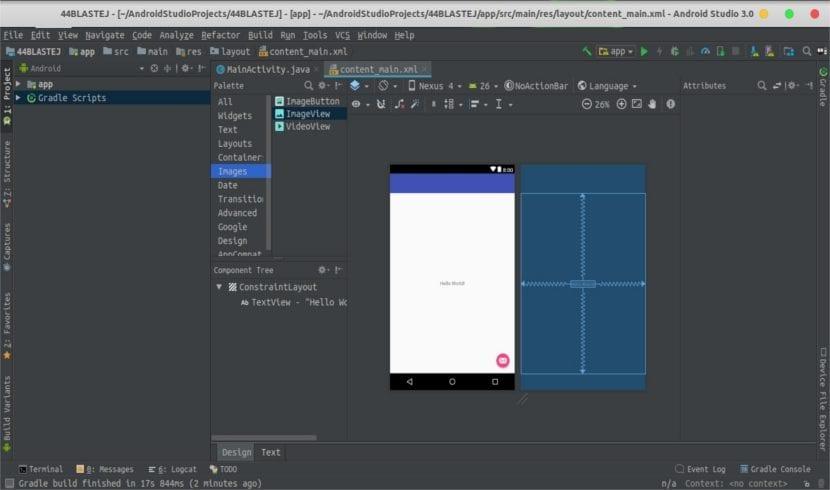 Android Studio 3.0 funcionando