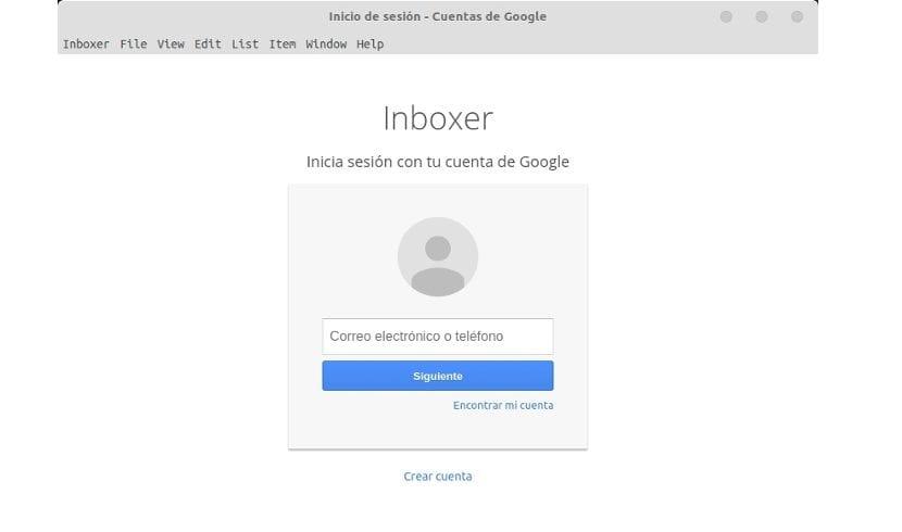 Inboxer cuanta de google