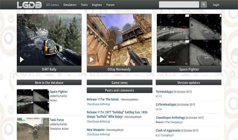 linux games database