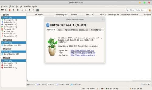 about qBittorrent 4.0