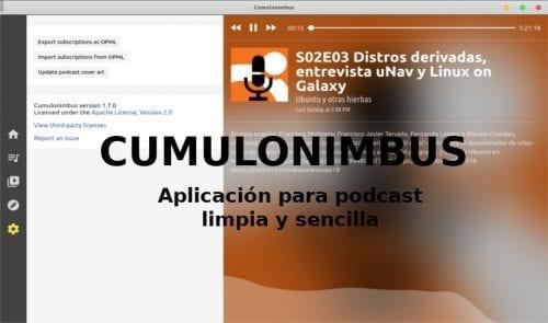 Cumulonimbus about