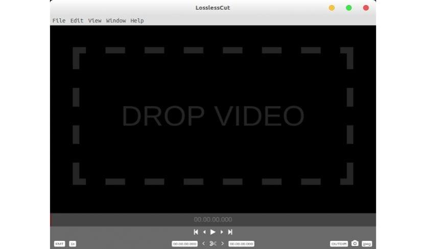 LossLesscut pantalla principal