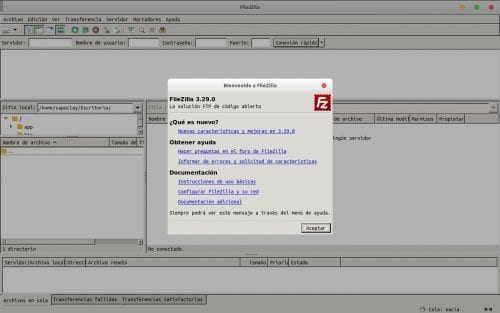 about filezilla flatpak