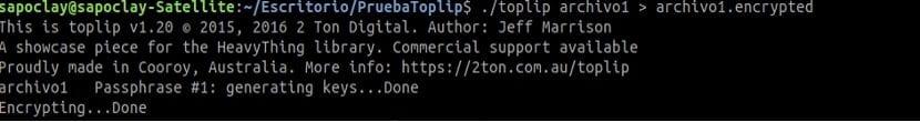 toplip encriptado archivo solo