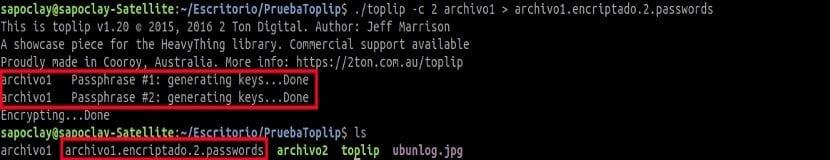 toplip password múltiple