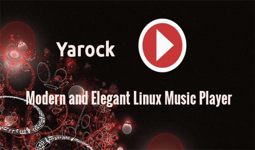 yarock music player about