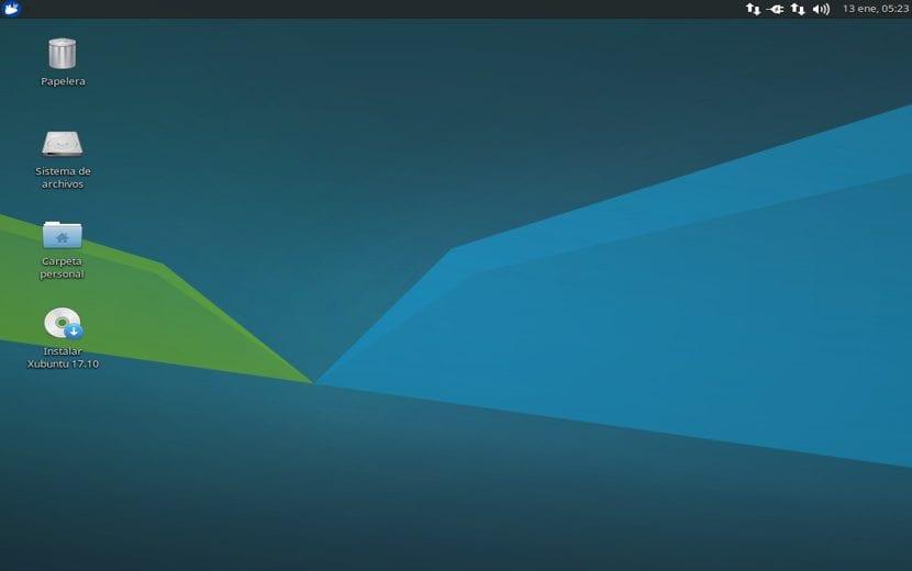 Xubuntu escritorio