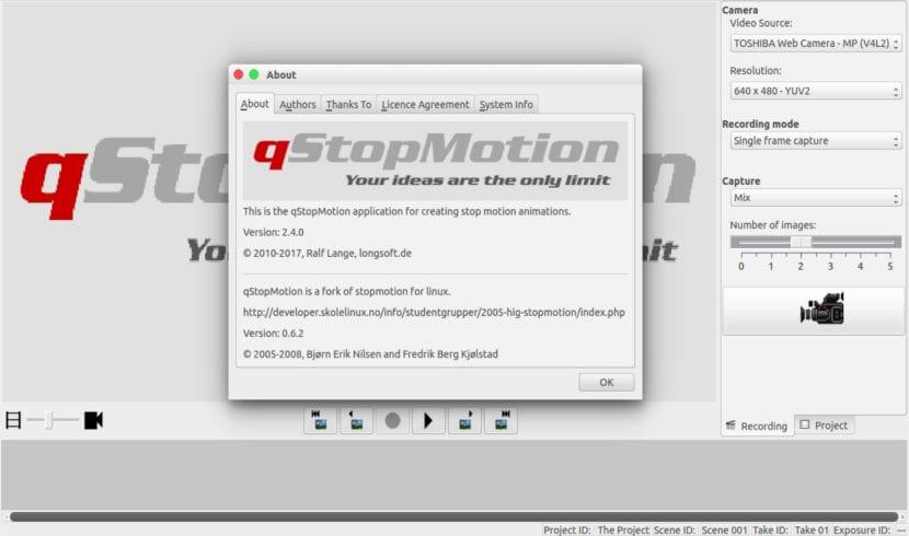 QstopMotion 2.4.0, paquete .deb para crear animaciones stop-motion