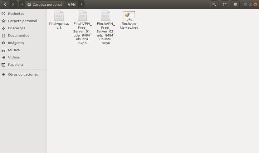 archivos configuración finchvpn
