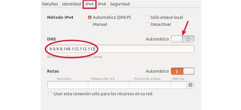 Configuración DNS Ubuntu 17.10