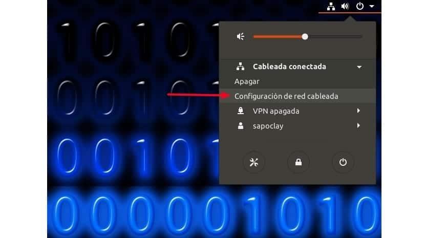 Configuración red cableada Ubuntu 17.10