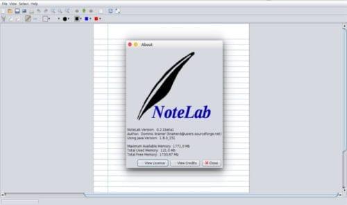 créditos Notelab
