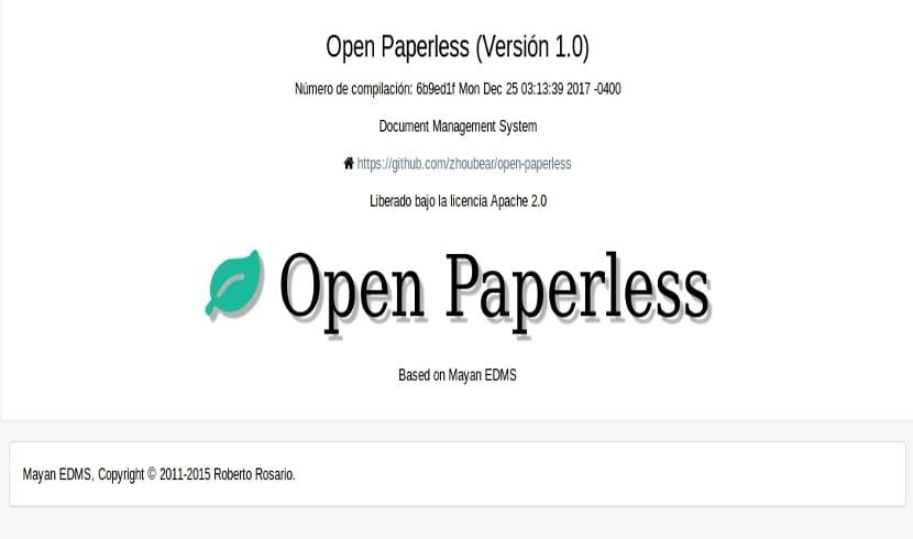 open paperless about