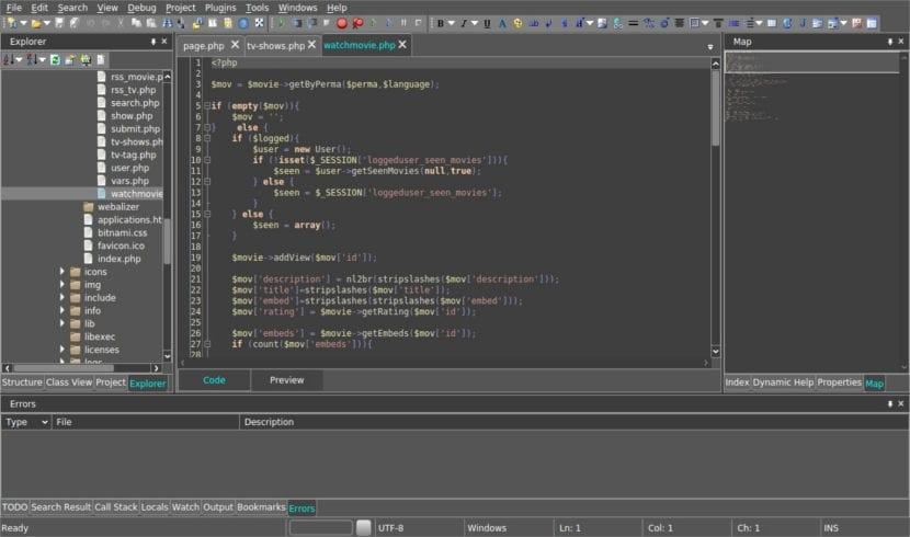 Codelobster proyecto abierto