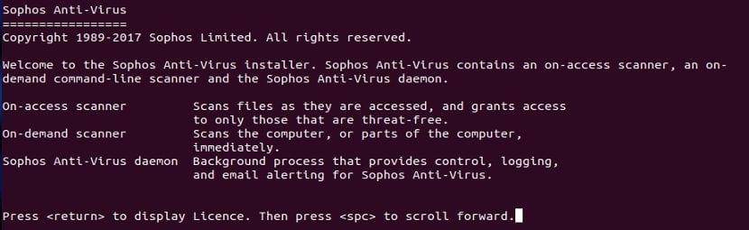 Licencia Sophos