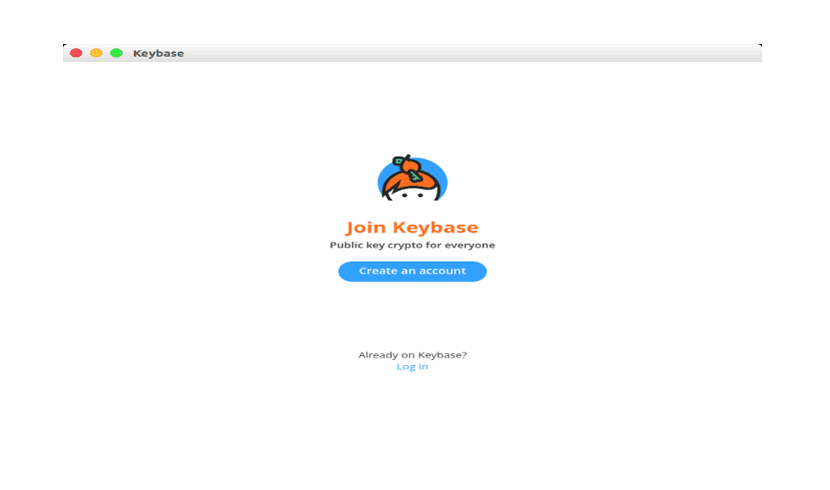 Keybase about