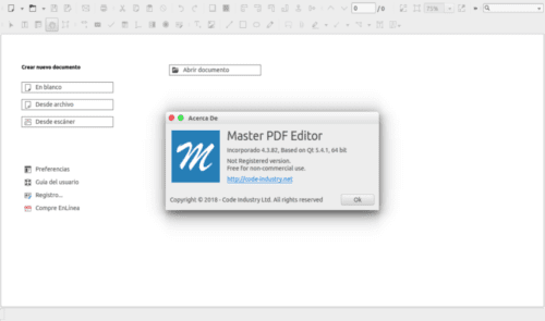 about Master PDF Editor