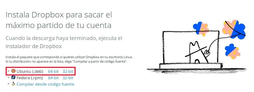 descarga dropbox