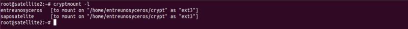 listar sistemas de archivos encriptados