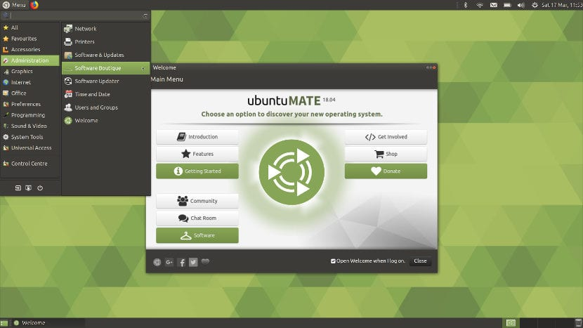Familiar de Ubuntu MATE.