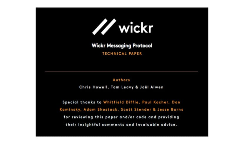 about Wickr
