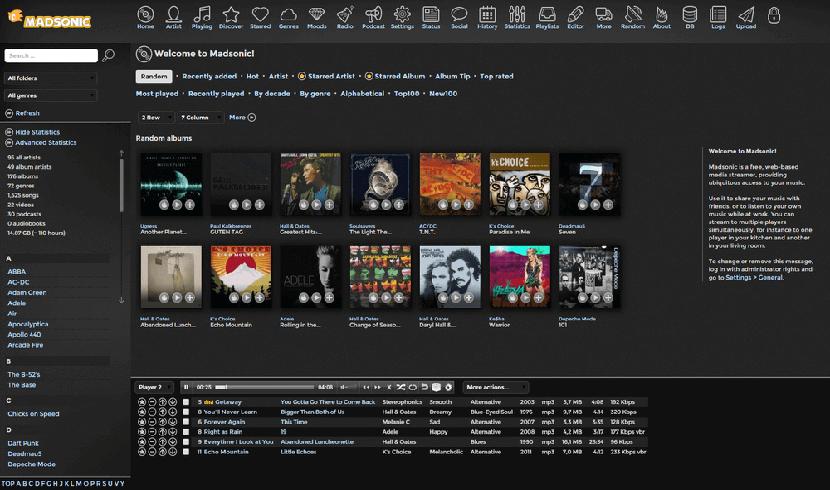 Madsonic Music Streamer