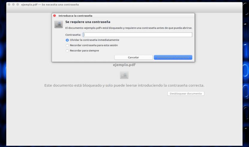ejemplo password pdf