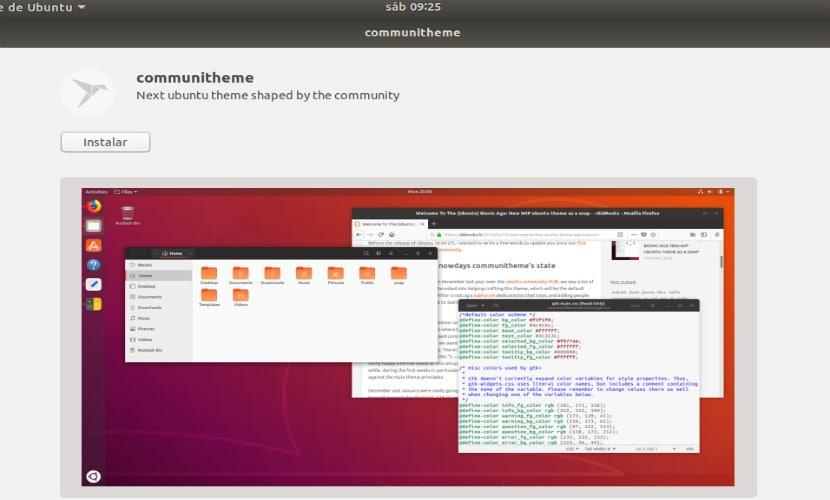 tema comunitario ubuntu