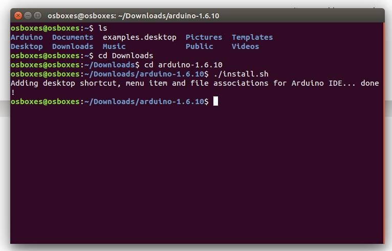 Instalación de Arduino IDE